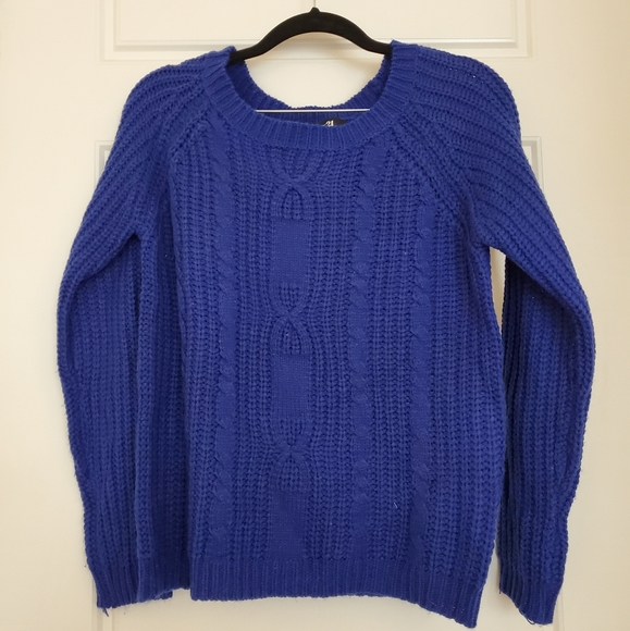 Forever 21 Sweaters - Blue Knit Sweater